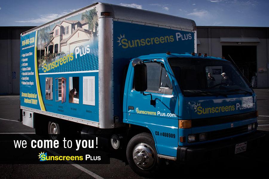 Sunscreens Truck